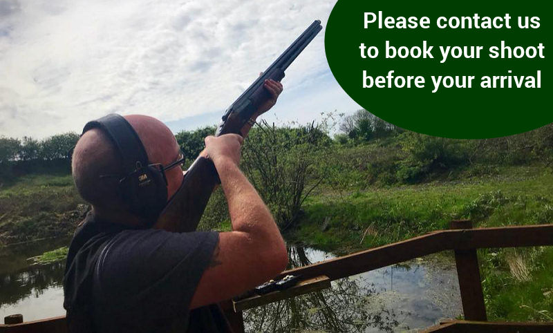 clay pigeon shooting - experienced shooters